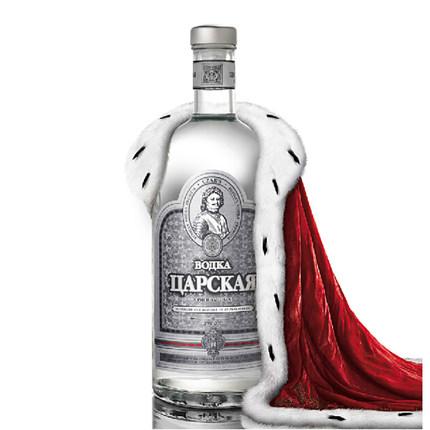 俄罗斯进口沙皇伏特加银鸡尾酒